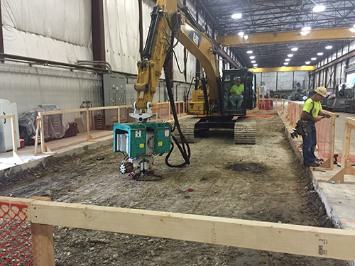 Hammer & Steel | Steel Sheet Pile and ABI HVR Supplied for