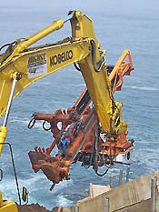 Hammer and Steel Interoc Excavator Attachments