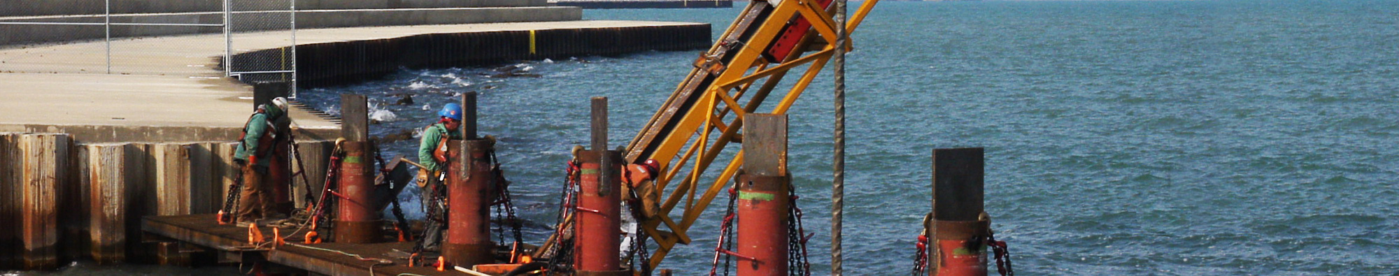 Hammer & Steel | Sheet Pile Capping Systems