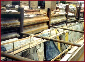 hammer steel ajv horizontal sheet piling