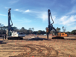 ABI Mobilram Piling Equipment