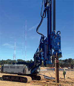 ABI MOBILRAM pile driving equipment