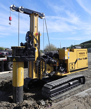 Hammer & Steel | SoilTek S60 and S35C Hydraulic Piling Rigs