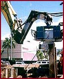 Hammer & Steel ABI Excavator Mounted Vibratory Pile Driver