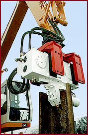 Hammer & Steel Dawson Excavator Mounted Vibratory Pile Drivers
