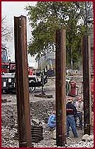 Hammer & Steel H-piling
