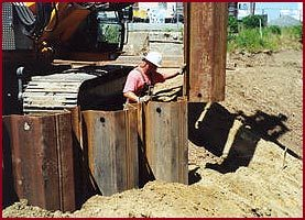 pre-drill sheet piling products