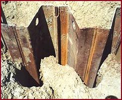 pre-drill sheet piling