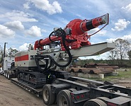 Comacchio CH 450 Low Headroom Drilling Rig - Hammer & Steel