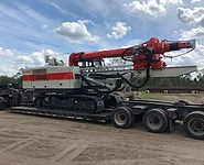 Comacchio CH 450 Low Headroom Drilling Rig