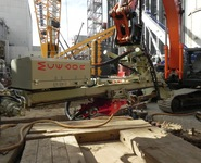 Comacchio MC E-60 Drill Rig Attachments