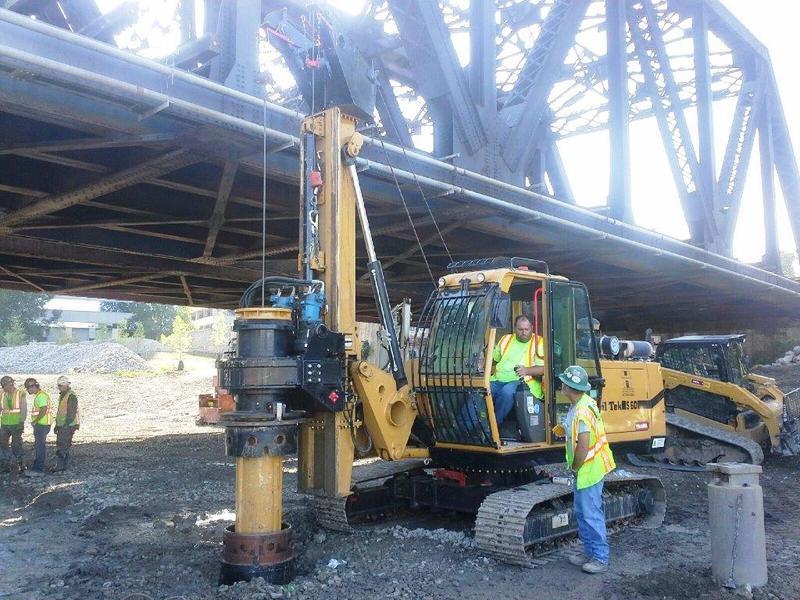Hammer & Steel | SoilTek S60 Hydraulic Piling & Drilling Rigs