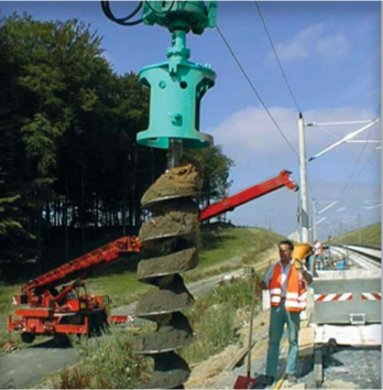 ABI Excavator Mounted Auger
