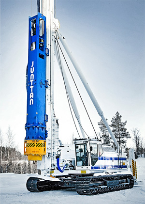 Hammer and Steel Junttan Multi-Purpose Piling Rig PM 26