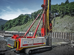 Hammer and Steel Junttan Multi-Purpose Piling Rig PM 28