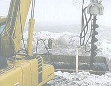 Low Headroom Drill Rigs